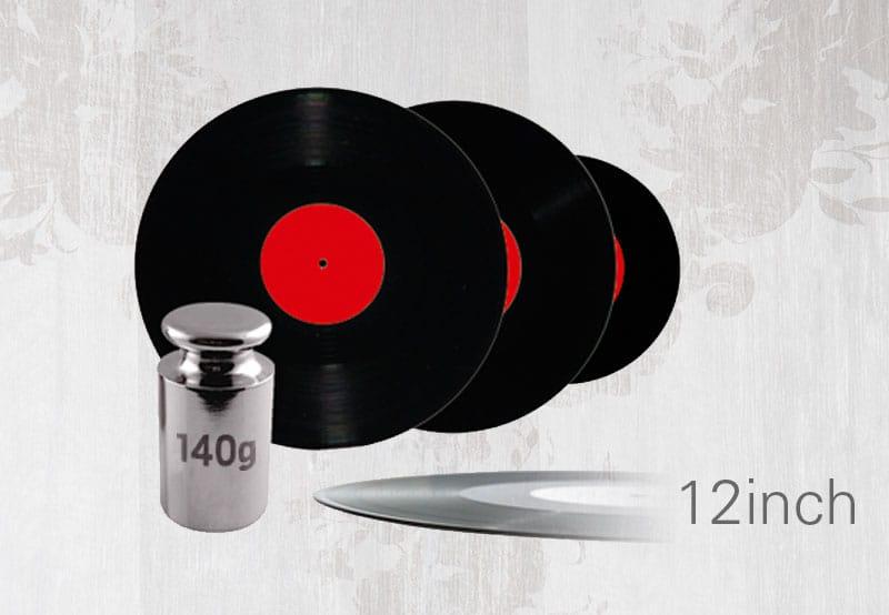Vinyl Pressung 12inch 140g