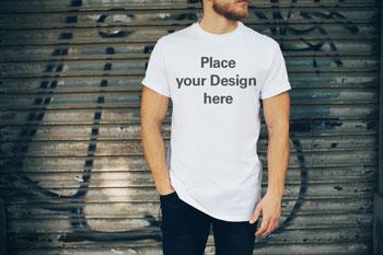 Mockups T-Shirts Hoodies Taschen