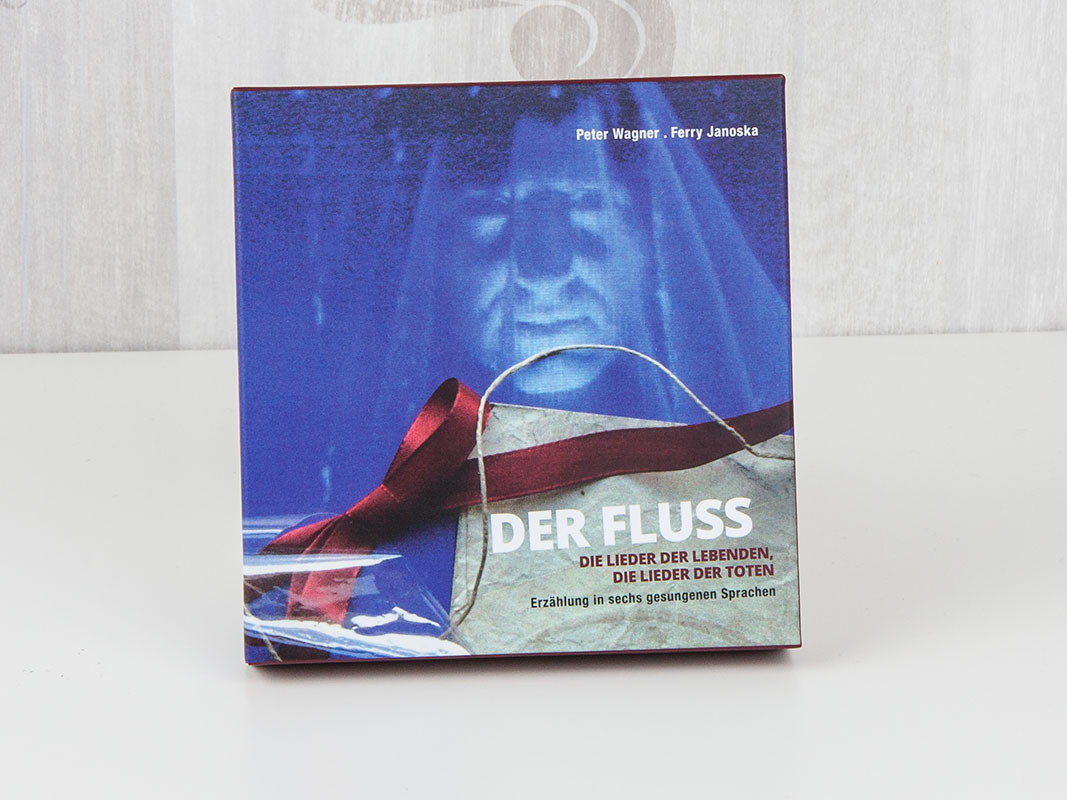 CD in Hardcover-Box mit Sonderformat