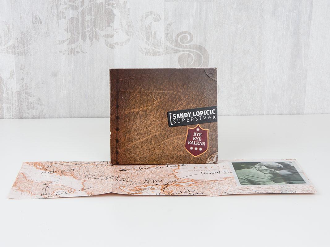 CD im Digipack mit Falzbooklet