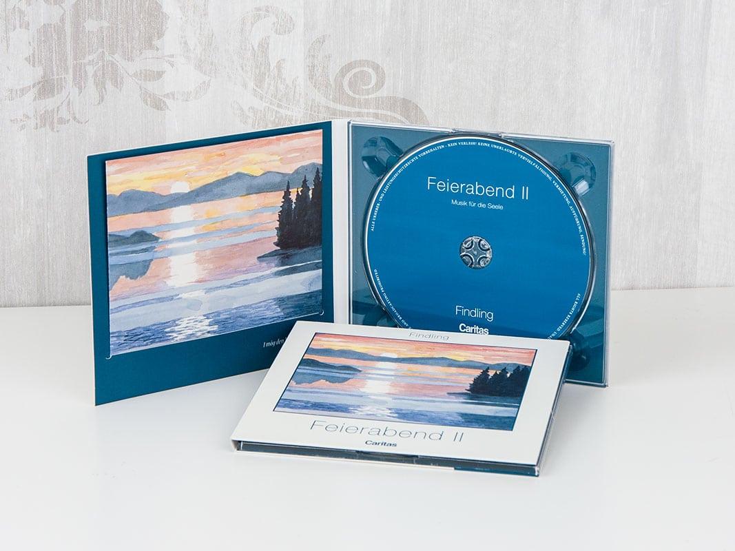 CD im Digipack mit CD Booklet