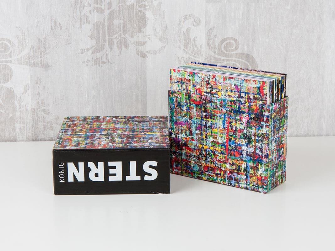 Schuber Sonderedition mit farblich abgestimmten Kartonstecktaschen