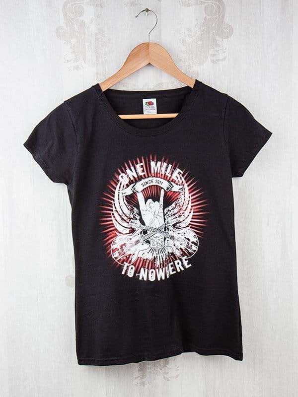 T-Shirt 2c Siebdruck