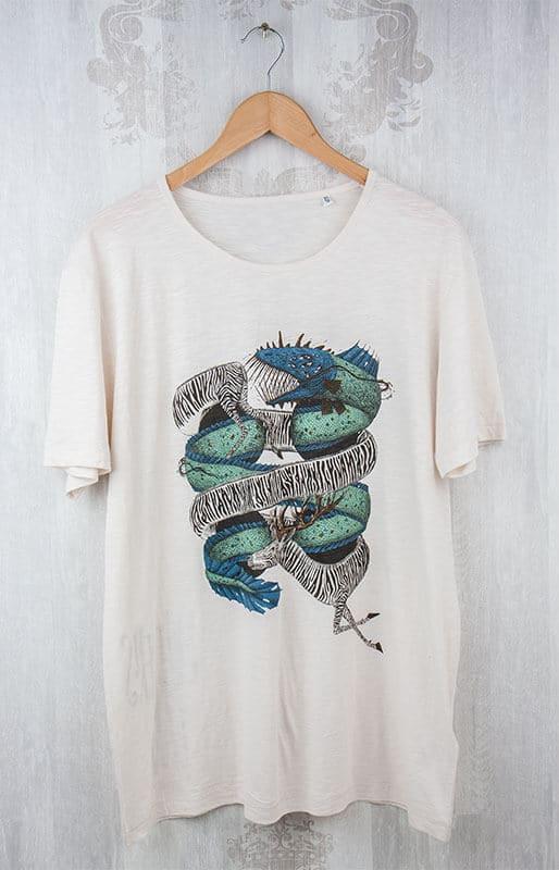 Bio-Shirt 6c Siebdruck