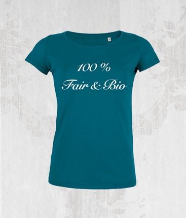 T-Shirt 1c Siebdruck Stanley Stella Bio